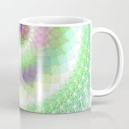 Orb Mandala 2 Aqua / Purple Coffee Mug