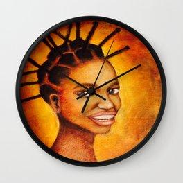 Hair power Wall Clock