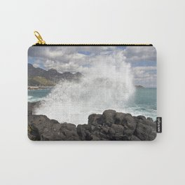 WAVES BEACH - SICILY Carry-All Pouch