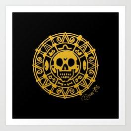 cursed treasure - Pirates of the Caribbean Art Print