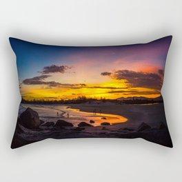 Glitter in Dusk Rectangular Pillow