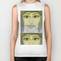 sketch Biker Tanks featuring sketch by Shelby Claire