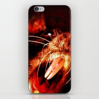 rat iPhone & iPod Skins featuring Rat by DMIllustrations