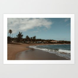 Puerto Rico Coastline Art Print