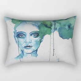 Blue Day Rectangular Pillow