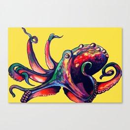 Cephalopod Mollusk Canvas Print