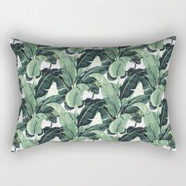 Tropical Banana Leaf Rectangular Pillow