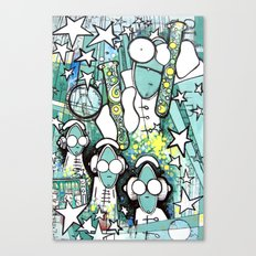 Visuals of Inexplicable Maybe, Act 1 Canvas Print