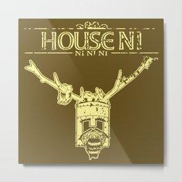 House NI Metal Print