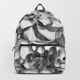 Black and white bouquet Backpack