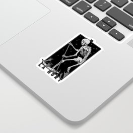 La Mort Sticker