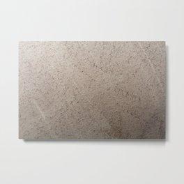 Clay Sandstone Metal Print