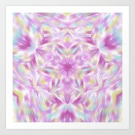 Joy of Abundance Digital kaleidoscope Art  Art Print