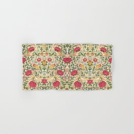 "William Morris ""Rose"" Hand & Bath Towel"