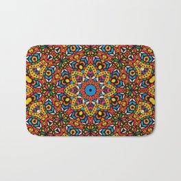 Arabesque kaleidoscopic Mosaic G518 Bath Mat