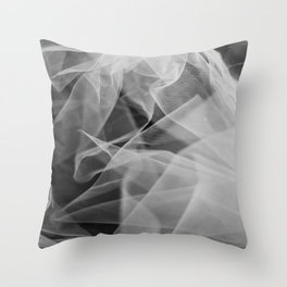 Abstract veil background 2 Throw Pillow