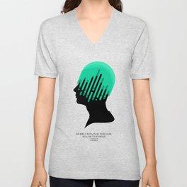 The Mind. Unisex V-Neck