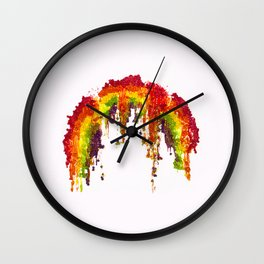 Skittles: Murder the rainbow---Trayvon Martin 1995-2012 Wall Clock