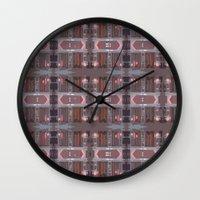 doors Wall Clocks featuring doors by Mackenzie Leigh