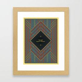 The Fledged. Framed Art Print