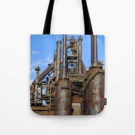 Bethlehem Steel Blast Furnace 3 Tote Bag
