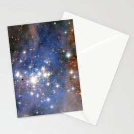 Star cluster Trumpler 14 in the Milky Way (NASA/ESA Hubble Space Telescope) Stationery Cards