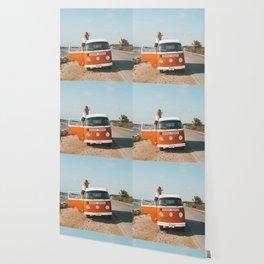 Combi van girl Wallpaper