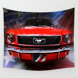 American Sally  Wall Tapestry