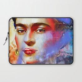 Frida Kahlo Painted Laptop Sleeve
