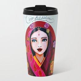 Compassionate heart Travel Mug