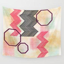 Cheery Chevron Wall Tapestry