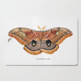Polyphemus Moth (Antheraea polyphemus) II Cutting Board