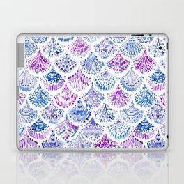 OCEAN PROTECTRESS Lavender Mermaid Scales Laptop & iPad Skin