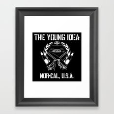The Young Idea - NorCal Emblem Framed Art Print