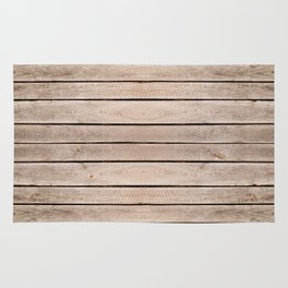 Weathered boards texture abstract Rug