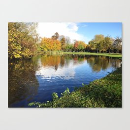 The amazing nature Canvas Print