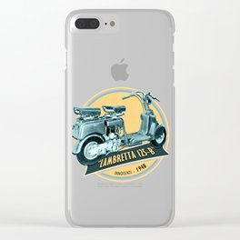 LAMBRETTA 125 B Clear iPhone Case