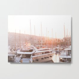Barcelona waterfront Metal Print