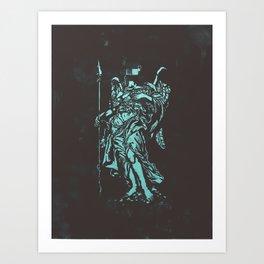 Censored Saints #5 Art Print