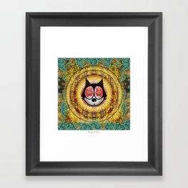 Felix The Cat Trip Framed Art Print
