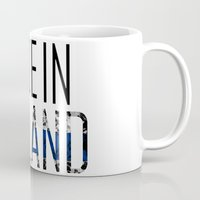 finland Mugs featuring Made In Finland by VirgoSpice