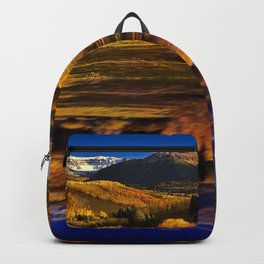 Autumn Mountain Landscape Backpack