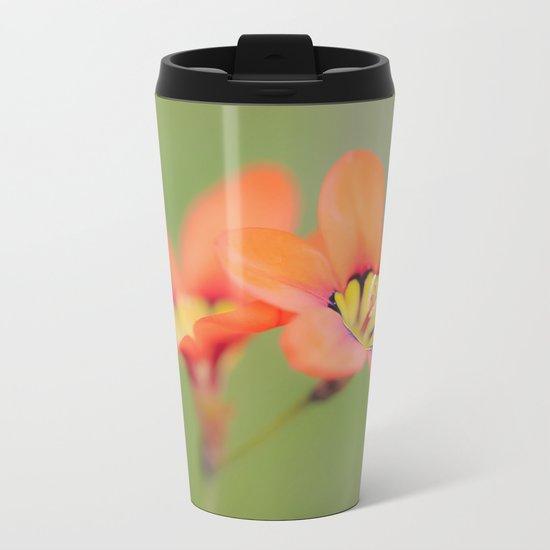 Bloomin Pretty Metal Travel Mug