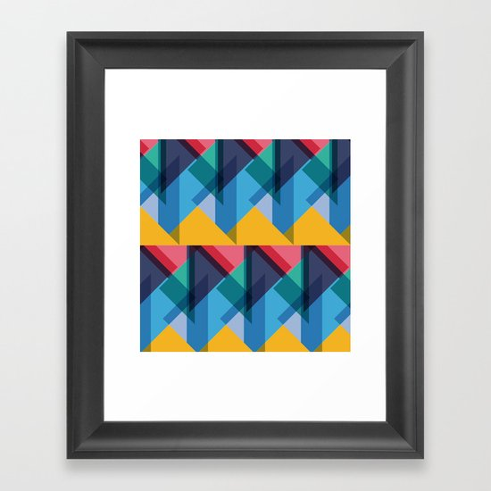 Crazy Abstract Stuff 2 Framed Art Print