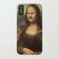 swanson iPhone & iPod Cases featuring Mona Swanson by RAOqwerty