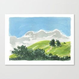Waimea Hillside Canvas Print