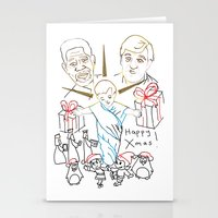 atheist Stationery Cards featuring Atheist Christmas by Braven