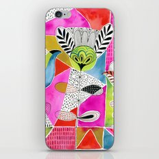 Tulips and Triangles iPhone Skin