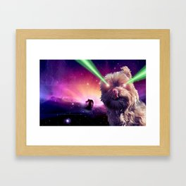 What A Wookie Framed Art Print