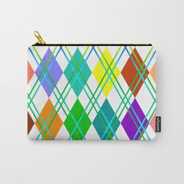 Argyle Carry-All Pouch